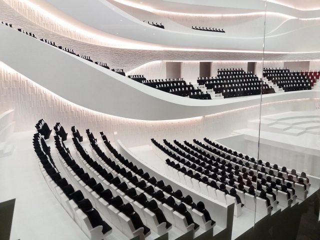 Концертный зал «Зарядье» — Проба сцены