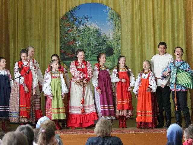 Концерт ансамбля фольклорной музыки «Веснянка» 3 сентября